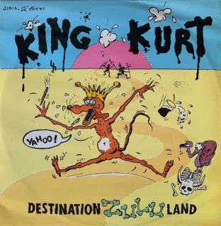 "King Kurt ‎- Destination Zululand  (12"") (VG/G++)"